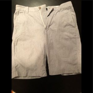 J Crew Micro stripe shorts